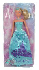 SIMBA lalka Księżniczka Steffi w błyszczącej sukience, niebieska