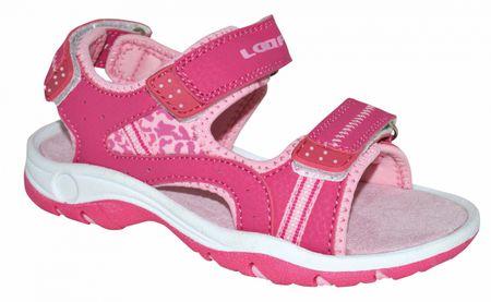 Loap COPASA dívčí sandály 33.0 růžová