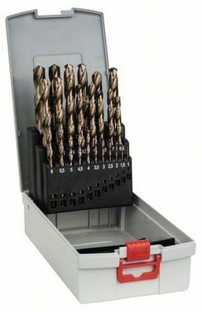 Bosch set svedrov za kovino Pro Box HSS-Co, 1-13 mm (2608587018)