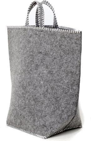 Sifcon Taška - filcová, 60x65cm světle šedá