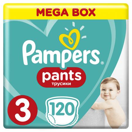 Pampers ActivePants Bugyipelenka 3 Midi Mega Box 120 db