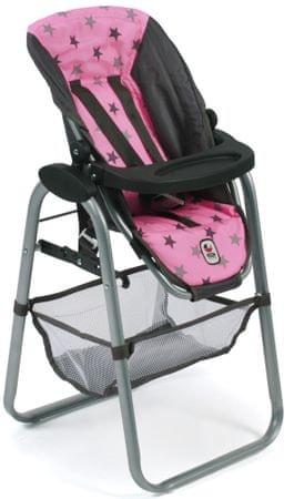Bayer Chic Jídelní židlička pro panenku, 83
