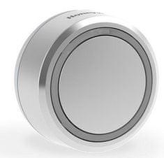 Honeywell Bezprzewodowy przycisk do dzwonka do drzwi DCP711G, okrągły szary