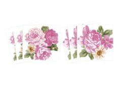 Dimex Malé nálepky vyrezané - Kvety, 6 ks
