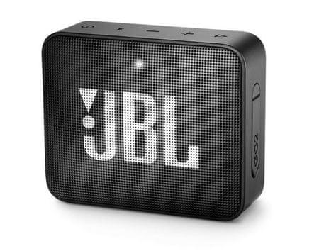 JBL Go 2 zvočnik, črn