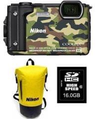 Nikon fotoaparat Coolpix W300 + SD16GB + nahrbtnik