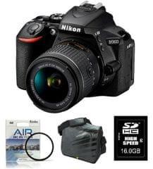Nikon D5600 + AF-P 18-55VR + Fatbox + filter