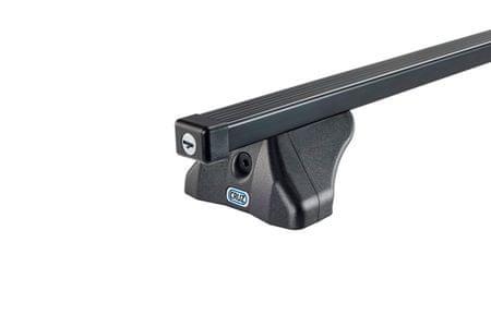 Cruz osnovne prečke S-FIX, 130 cm, črne (921-385)