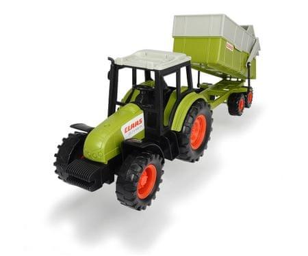 DICKIE Traktor CLAAS z przyczepą 36 cm