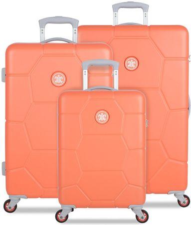 SuitSuit komplet potovalnih kovčkov Caretta Melon