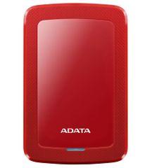 A-Data Pevný disk HV300 2TB červený (AHV300-2TU31-CRD)
