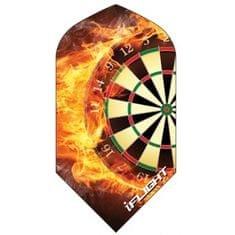 """Designa Letky """"Dartboard Fire"""" IFL1000"""