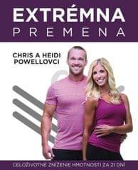 a Heidi Powellovci Chris: Extrémna premena - celoživotné zníženie hmotnosti za 21 dní
