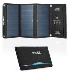 Anker prenosni solarni polnilnik PowerPort, 2x USB, 21 W