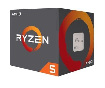 AMD procesor Ryzen 5 2600 s hladilnikom Wraith Stealth (YD2600BBAFBOX)