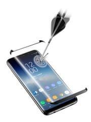 CellularLine zaščitno steklo Capsule za Samsung Galaxy S9 Plus, črno