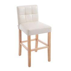 BHM Germany Barová židle Emanuel, krémová