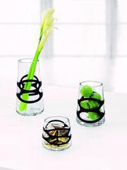 Stelton Váza Embrace mini, 10 cm čierna