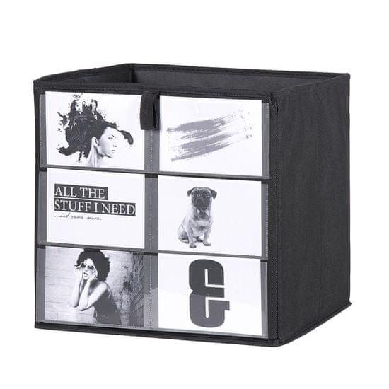 FARELA Úložný box Beta 1, 32 cm, Fotobox