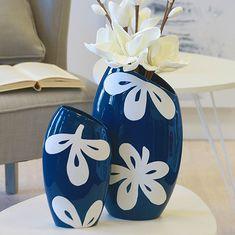 Papillon Váza keramická Fleur, 30 cm