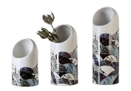 Papillon Váza keramická Lagune, 42 cm