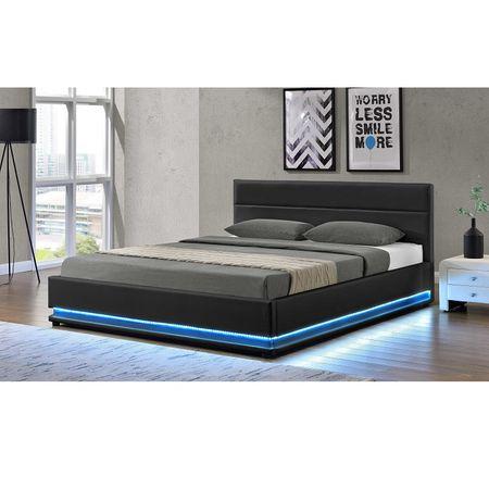 1180dff0189a Manželská posteľ s LED osvetlením