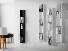 Mørtens Furniture Nástenný regál / knižnica Libri, 150 cm, čierna