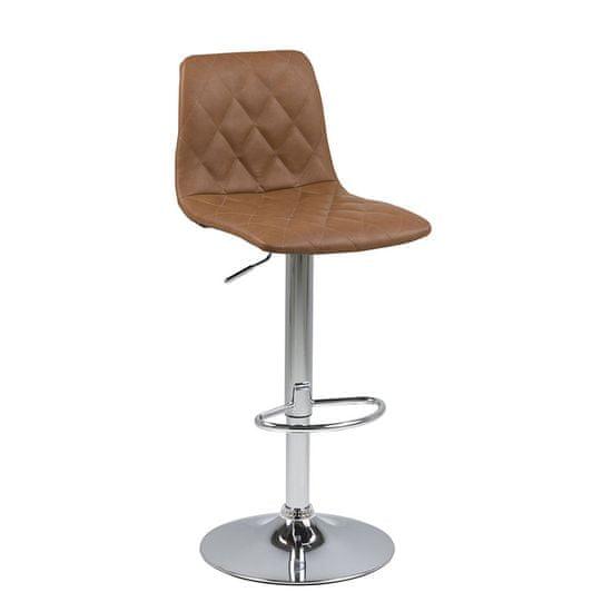 Design Scandinavia Barová stolička Urma, holubičia hnedá