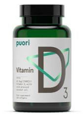 Puori vitamin D, 120 kapsula