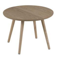 Design Scandinavia Konferenčný / nočný stolík Stanfield, 50 cm, jaseň