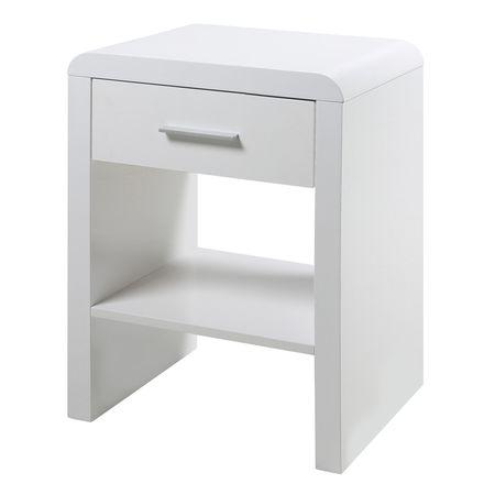 Design Scandinavia Noční stolek se zásuvkou Daisy, 60 cm