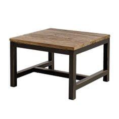 Danish Style Konferenční stolek s dřevěnou deskou Harvest, 60 cm