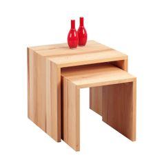 Artenat Konferenční stolky Lina, sada 2 ks, buk