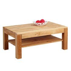 Artenat Konferenčný stolík z masívu Denis, 105 cm, divoký dub