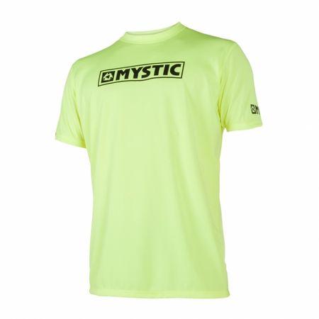 Mystic majica Quickdry STAR SS/650, rumena, XXL