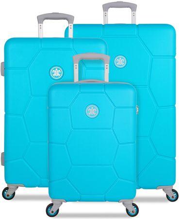 SuitSuit zestaw walizek podróżnych Caretta, Ocean Blue
