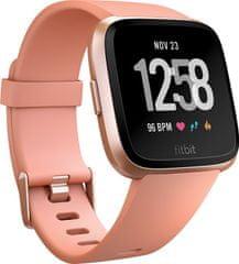Fitbit smartwatch Versa - Peach / Rose Gold Aluminum