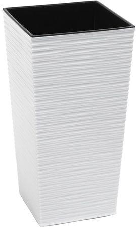 NOHEL GARDEN Obal na kvetináč Finezia Dluto 46 cm biela