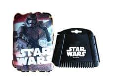 KAJA Zimný darčekový set do auta, motív Star Wars, škrabka, huba Trooper