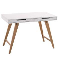 BHM Germany Pracovný stôl so zásuvkami Hunt, 110 cm