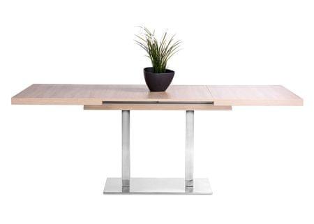 FARELA Jídelní stůl rozkládací August, 200 cm, dub