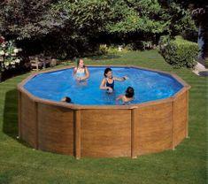 Planet Pool bazen KIT 460W, 460 x 120 cm, barvan