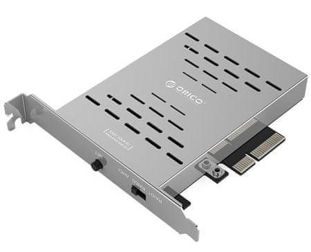 Orico RAID kartica PSR2 iz 2x M.2 SSD v PCI-E