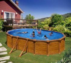 Planet Pool bazen KIT 500W, 500 x 300 x 120 cm, barvan