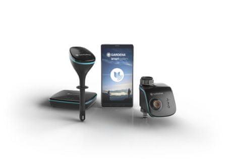 Gardena Smart zestaw nawadniający (router + sensor)