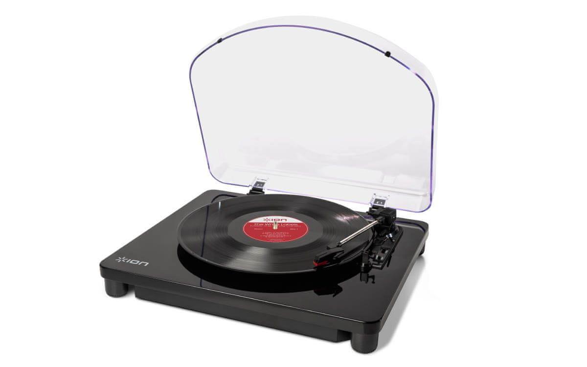 Gramofon iON Classic LP kryt proti prachu