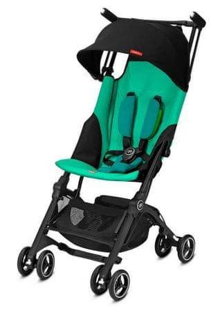 GB otroški voziček Pockit+, turkizen