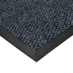 FLOMA Modrá textilní zátěžová čistící vnitřní vstupní rohož Fiona, FLOMA - 1,1 cm