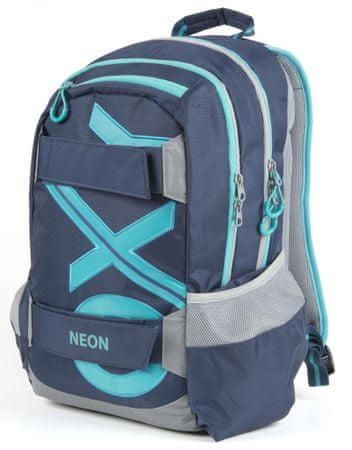 Karton P+P anatomski ruksak OXY SPORT Blue Line, tirkizni