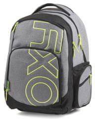 Karton P+P Anatómikus hátizsák OXY Style GREY LINE Green